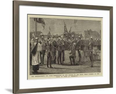 The Reinforcements for India--Framed Giclee Print