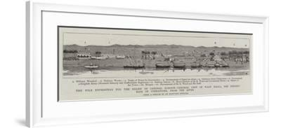 The Nile Expedition for the Relief of General Gordon--Framed Giclee Print