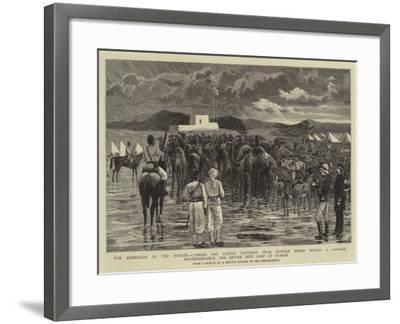 The Rebellion in the Soudan--Framed Giclee Print