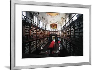 The Library of Classense Library--Framed Photographic Print