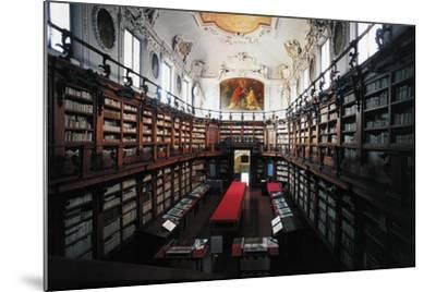 The Library of Classense Library--Mounted Photographic Print