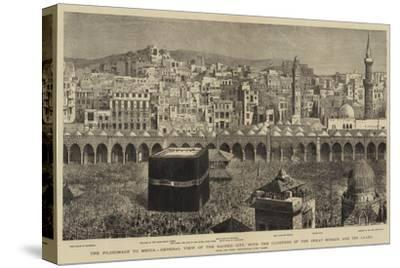 The Pilgrimage to Mecca--Stretched Canvas Print