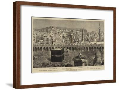 The Pilgrimage to Mecca--Framed Giclee Print