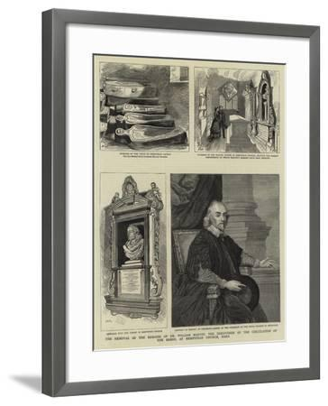 The Removal of the Remains of Dr William Harvey--Framed Giclee Print