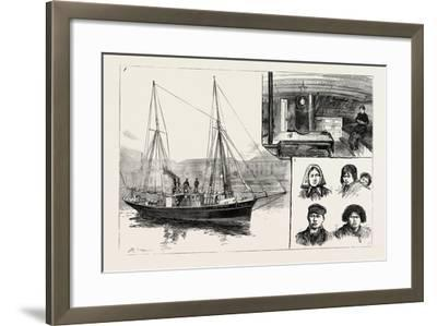 The Mission Ship of the South American Missionary Society--Framed Giclee Print