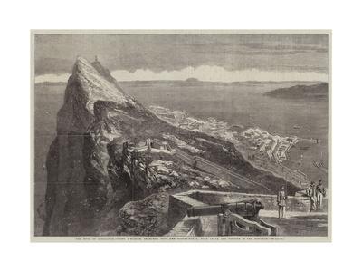 The Rock of Gibraltar--Framed Giclee Print