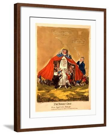 The Modern Circe or a Sequel to the Petticoat--Framed Giclee Print