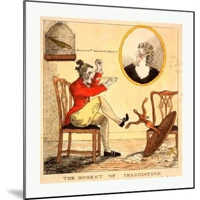 The Moment of Imagination--Mounted Giclee Print