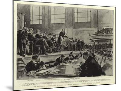 The Marquess of Salisbury's Visit to Ulster--Mounted Giclee Print