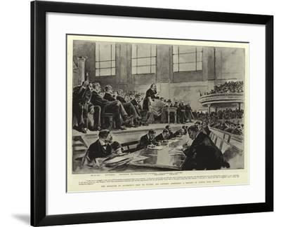 The Marquess of Salisbury's Visit to Ulster--Framed Giclee Print