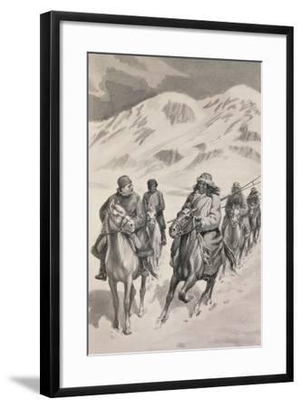 Tibetan People from Trans-Himalaya--Framed Giclee Print