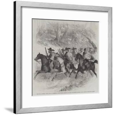 The War in America--Framed Giclee Print