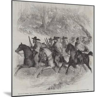 The War in America--Mounted Giclee Print