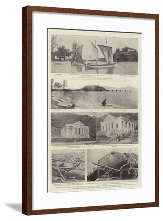 The War in Brazil--Framed Giclee Print
