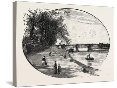 Trent Bridge--Stretched Canvas Print