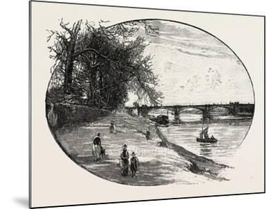 Trent Bridge--Mounted Giclee Print
