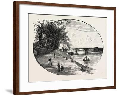 Trent Bridge--Framed Giclee Print