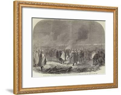 The War in Schleswig--Framed Giclee Print