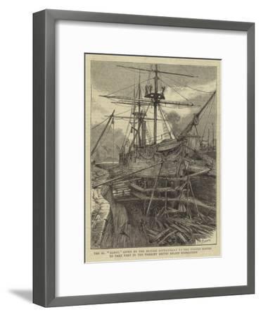 The Ss Alert--Framed Giclee Print