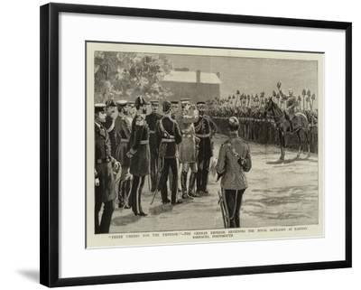 Three Cheers for the Emperor!--Framed Giclee Print