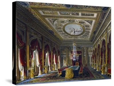 Throne Room--Stretched Canvas Print