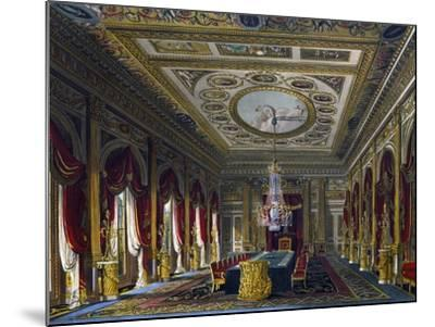 Throne Room--Mounted Giclee Print