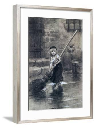 Young Cosette--Framed Giclee Print