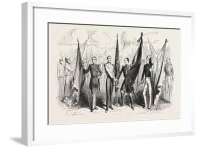 Victory! Cantata of Mr. Michek Carré--Framed Giclee Print