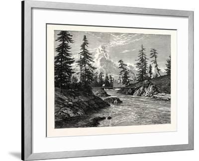 View of The Gorge--Framed Giclee Print
