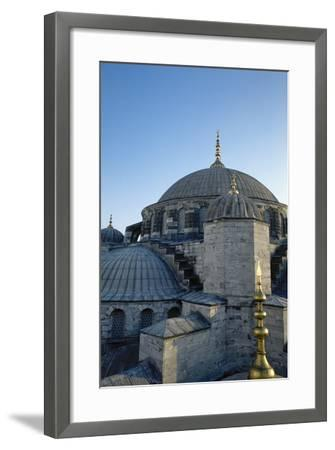 Turkey. Istanbul. Sultan Ahmed Mosque or Blue Mosque.1609-1616. Architect--Framed Photographic Print