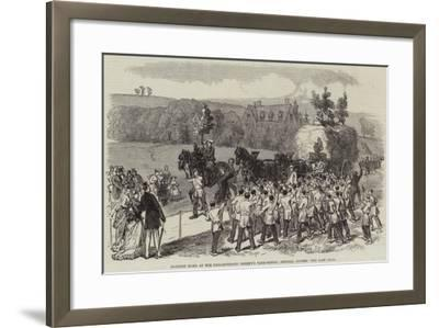 Harvest Home at the Philanthropic Society's Farm-School, Redhill, Surrey, the Last Load--Framed Giclee Print