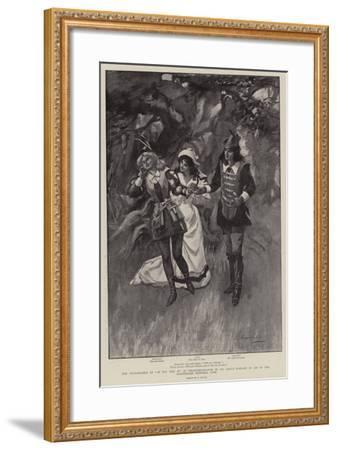 The Performance of As You Like It at Stratford-On-Avon by Mr Daly's Company in Aid of the Shakespea--Framed Giclee Print