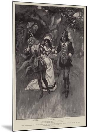 The Performance of As You Like It at Stratford-On-Avon by Mr Daly's Company in Aid of the Shakespea--Mounted Giclee Print