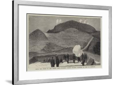 With the Turks in the Shipka Pass, Suleiman Pasha's Nearest Positions to Fort St Nicholas--Framed Giclee Print