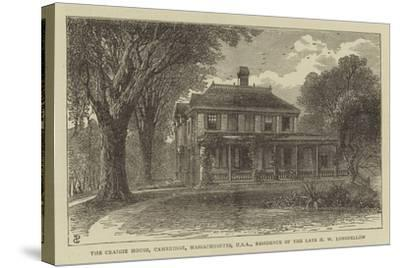 The Craigie House, Cambridge, Massachusetts, USA, Residence of the Late H W Longfellow--Stretched Canvas Print