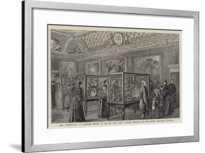 Art Exhibition at Spencer House in Aid of the East London Branch of the Girls' Friendly Society--Framed Giclee Print