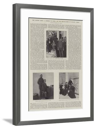 The Eastern Crisis, a Journey to Canea and the Headquarters of Colonel Vassos--Framed Giclee Print