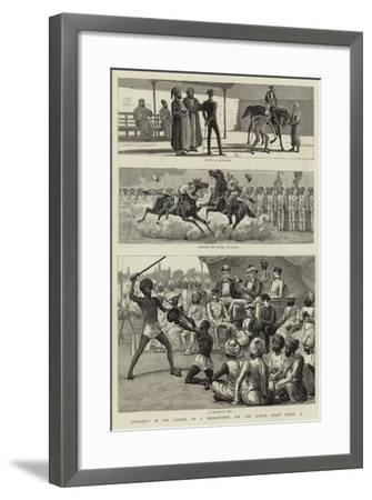 Incidents in the Career of a Probationer for the Indian Staff Corps, Ii--Framed Giclee Print