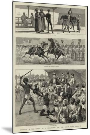 Incidents in the Career of a Probationer for the Indian Staff Corps, Ii--Mounted Giclee Print