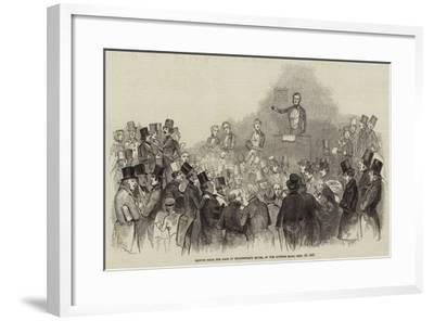 Sketch from the Sale of Shakespere's House, at the Auction Mart, 16 September 1847--Framed Giclee Print