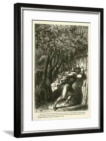 About Ten O'Clock I Heard the Hollow Roar of a Lion at No Great Distance--Framed Giclee Print