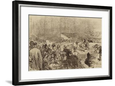 Visit of the Prince and Princess of Wales and the King and Queen of Greece, 1876--Framed Giclee Print
