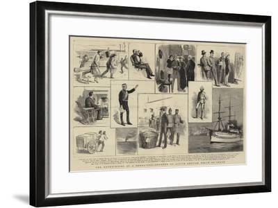 The Experiences of a Subaltern, Ordered on Active Service While on Leave--Framed Giclee Print