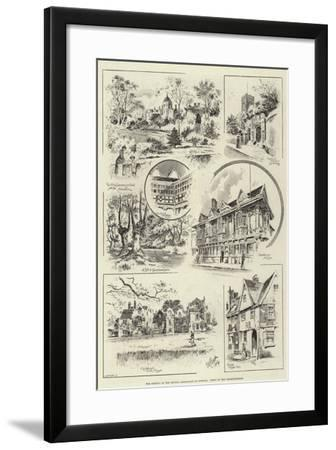 The Meeting of the British Association at Ipswich, Views of the Neighbourhood--Framed Giclee Print