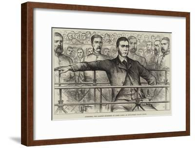 O'Donnell, the Alleged Murderer of James Carey, at Bow-Street Police Court--Framed Giclee Print