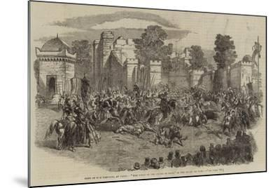 Fete of the Emperor, at Paris, The Field of the Cloth of Gold, in the Champ De Mars--Mounted Giclee Print