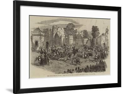 Fete of the Emperor, at Paris, The Field of the Cloth of Gold, in the Champ De Mars--Framed Giclee Print