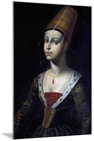 Portrait of Francoise De Boulogne, Castle of Lapalisse (La Palice), Auvergne, France--Mounted Giclee Print
