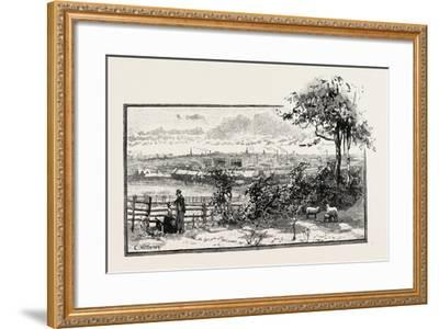 Northampton Is a Large Town and Local Government District in the East Midlands Region of England. i--Framed Giclee Print