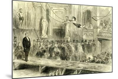 Oxford Music Hall U.K. 1862 the Juvenile Professors of the Trapeze Great Britain--Mounted Giclee Print